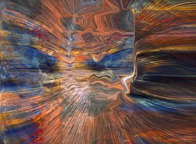 Digital Art - Interface by Linda Sannuti