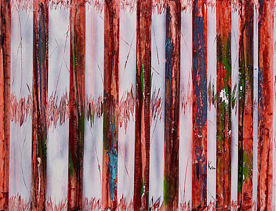 Interference Painting - Interference by Kevin Cross