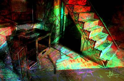 Photograph - Interior Abstraction by Jim Vance