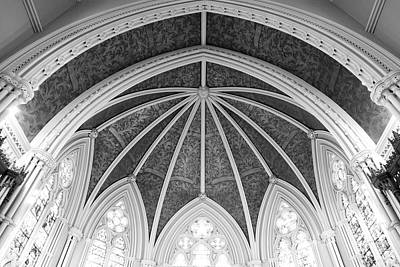 Interior Architecture Of A Church Art Print