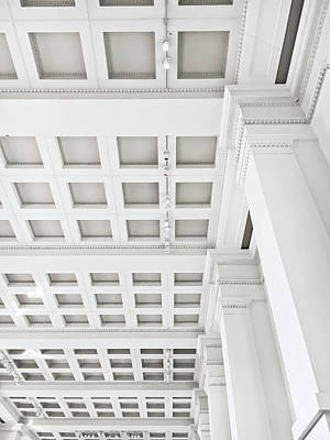 Interior Ceiling Detail Print by Tom Gowanlock