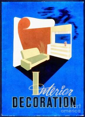Interior Decoration Vintage Wpa Poster Art Print