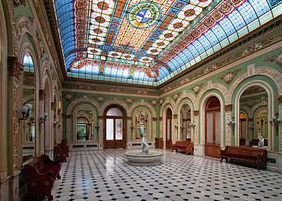 Photograph -  Interior Del Palacio Santos by Marcos Mendizabal