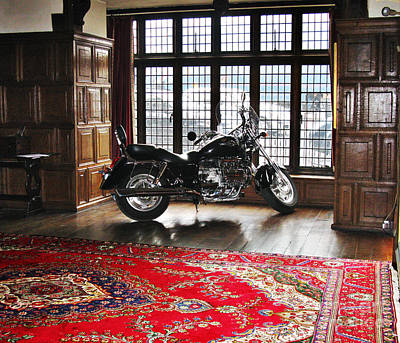 Photograph - Interior Design For A Motorcycle Fan by Tom Conway