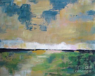 Meadow At Dusk Original by Vesna Antic