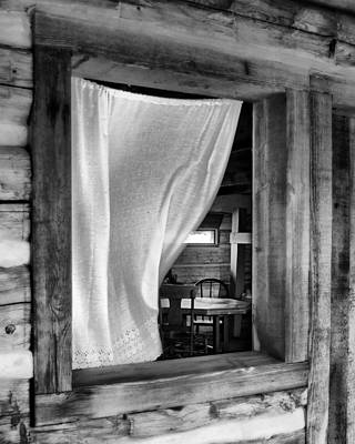 Photograph - Interior - Frontier Fort - Fort Atkinson - Nebraska by Nikolyn McDonaldrt Atkinson - Nebraska