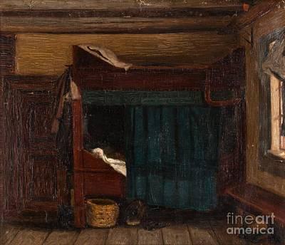 Adolf Painting - Interior by MotionAge Designs