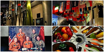 Photograph - Interior - Museum Of Cosmonautics by Jacqueline M Lewis
