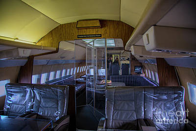 Photograph - Interior Of Air Force One by Rick Bragan