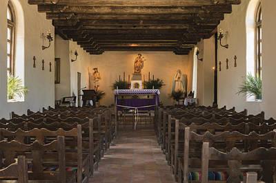 Photograph - Interior Of Mission San Francisco De La Espada by Carol M Highsmith