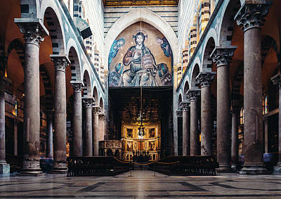 Photograph - Interior Of Pisa Cathedral, Italy by Alexandre Rotenberg