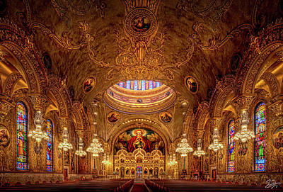 Photograph - Interior Of Saint Sophia Church by Endre Balogh