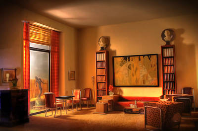 Digital Art - Interiors - Art Deco by Dan Stone