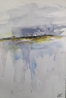 Painting - Interlake Cabin by Desmond Raymond