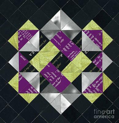 Mixed Media - Interlock by Diane Thornton