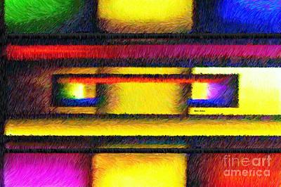Digital Art - Interlock by Rafael Salazar