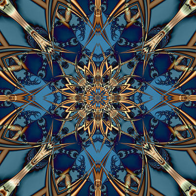 Digital Art - Interlocking by Jim Pavelle
