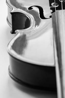 Fiddle Wall Art - Photograph - Interlude by Maggie Terlecki