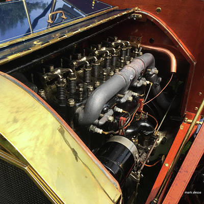 Photograph - Internal Combustion by Mark Alesse