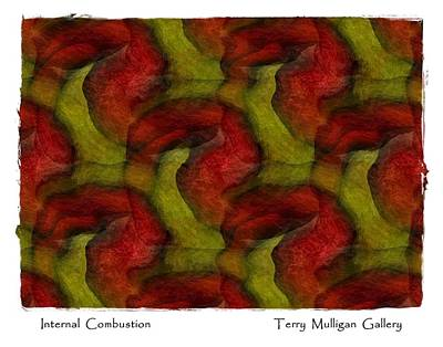 Internal Combustion Art Print by Terry Mulligan