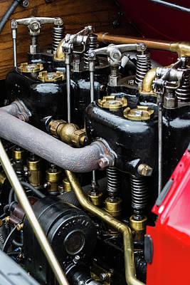 Photograph - Internal Engine by Stewart Helberg
