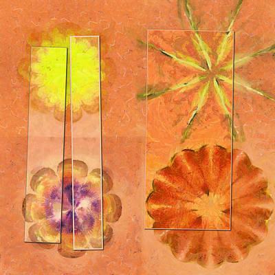 Internarial Concord Flowers  Id 16165-011657-19151 Print by S Lurk