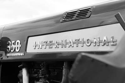 Photograph - International 350 by Rick Morgan