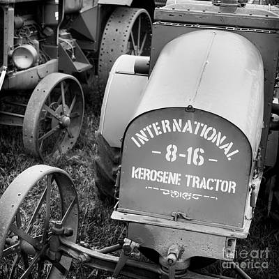 Tractor Photograph - International 8-16 by Patrick M Lynch