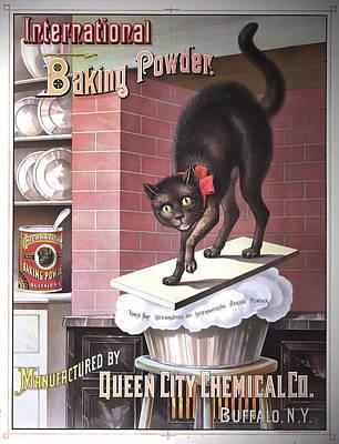 Baking Mixed Media - International Baking Powder by Susan  Epps Oliver