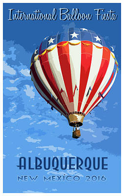 International Balloon Fiesta Art Print
