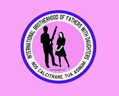 International Brotherhood Of Fathers With Daughters Art Print