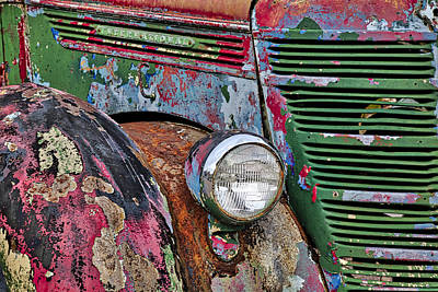 Photograph - International Car Details by Susan Candelario