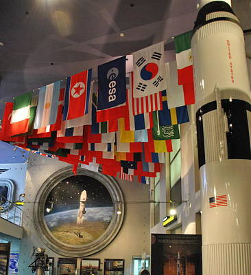 Photograph -  International Display - Museum Of Cosmonautics by Jacqueline M Lewis