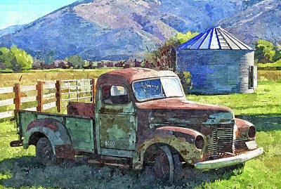 International Farm Dop Art Print