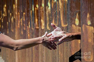 Photograph - International Handshake by Jim West