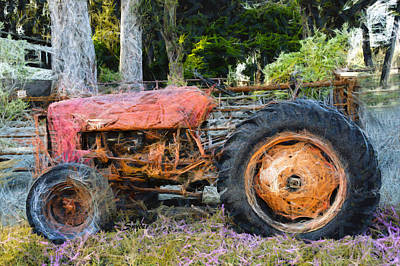 Photograph - International Harvester Abandoned  by Barbara Snyder