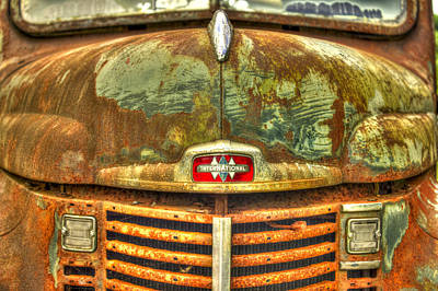 International Harvester Hood Print by Reid Callaway