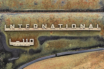 Photograph - International L-110 Pickup by JC Findley