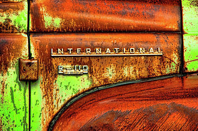 Art Print featuring the photograph International Mcintosh  Horz by Jeffrey Jensen
