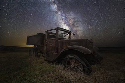 Photograph - International Milky Way 2  by Aaron J Groen