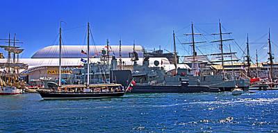 Photograph - International Navy Fleet Review In Darling Harbour by Miroslava Jurcik