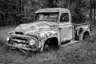 Photograph - International Pickup by David Wagner