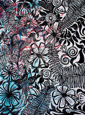 Drips Painting - International by Ryan Burton