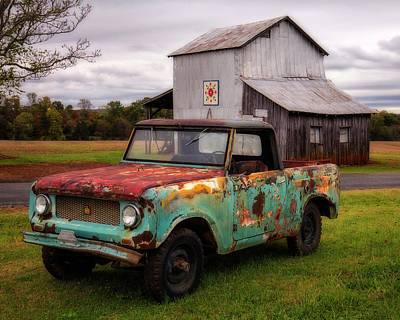 Photograph - International Scout by Alan Raasch
