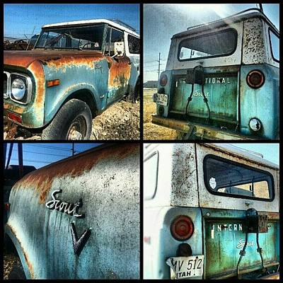 Rust Wall Art - Photograph - International Scout by Carlos Caceres