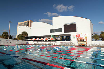Photograph - International Swimming Hall Of Fame Pool 1 by David Smith