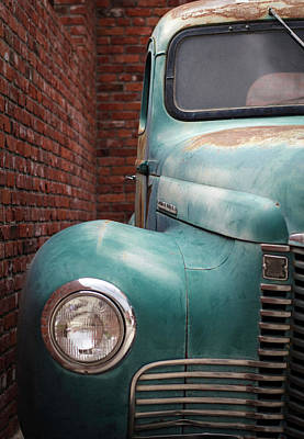 Photograph - International Truck 1 by Heidi Hermes