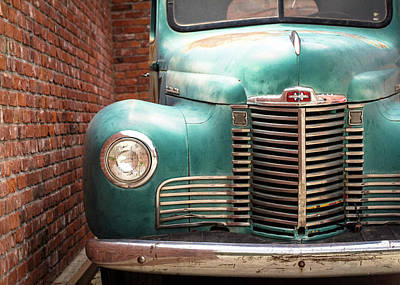 Photograph - International Truck 2 by Heidi Hermes