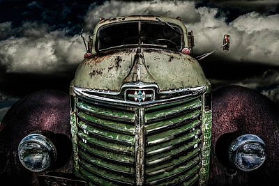 Photograph - International Truck 2 by Michael Arend
