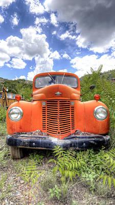 Photograph - International Truck by Chris Featherstone